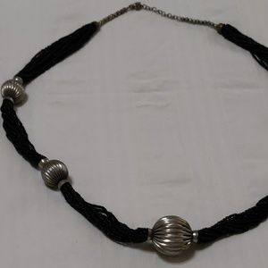 Chains & Balls long necklace